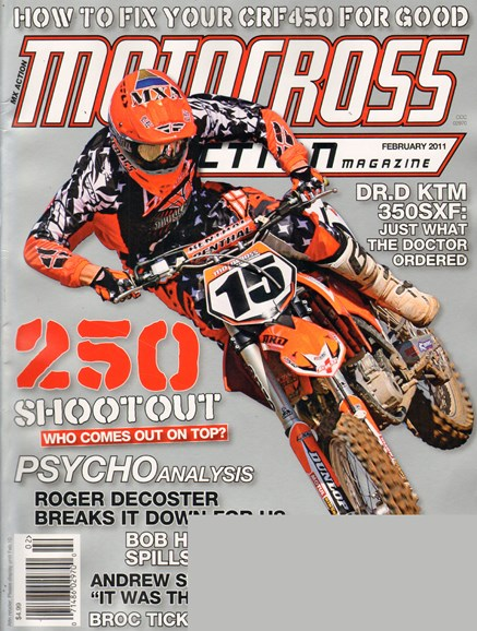 Transworld Motocross Cover - 2/1/2011