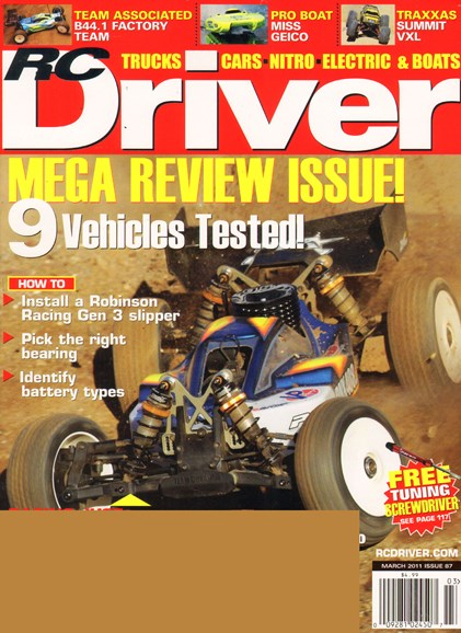 RC Driver Cover - 3/1/2011