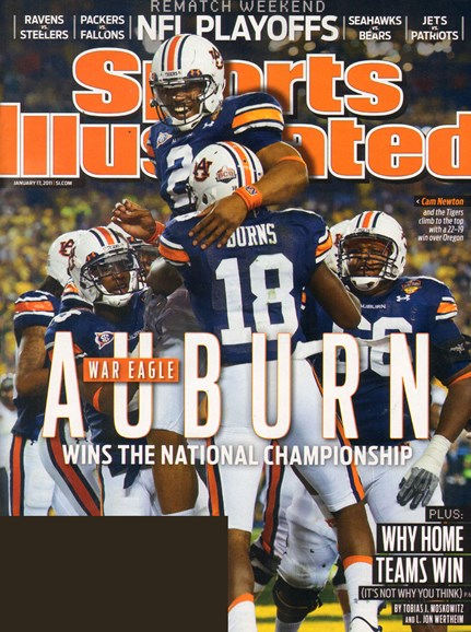 Sports Illustrated Cover - 1/17/2011
