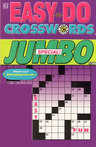 Lots of Easy Crosswords Cover - 2/1/2011