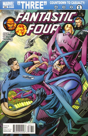 Fantastic Four Cover - 3/1/2011