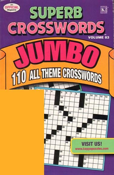 Superb Crosswords Jumbo Cover - 2/1/2011