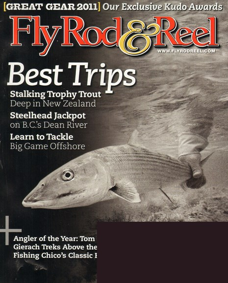 Fly Rod & Reel Magazine Cover - 12/1/2010