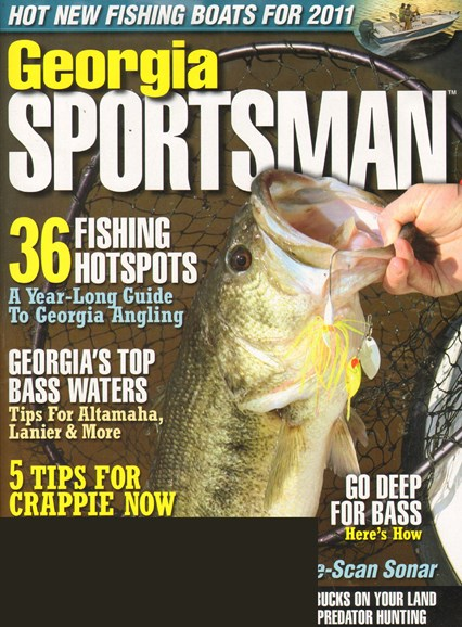 Georgia Sportsman Cover - 2/1/2011