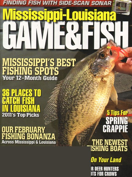 Mississippi Game & Fish Cover - 2/1/2011