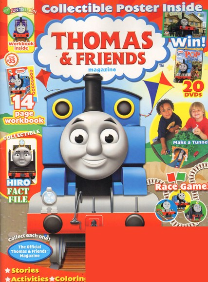 Thomas & Friends Cover - 2/1/2011