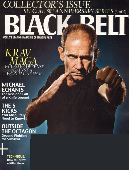 Black Belt Magazine Cover - 3/1/2011