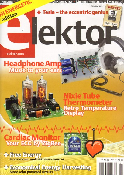 Elektor - North American Edition Cover - 1/1/2011