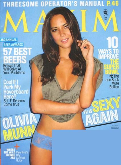 Maxim Cover - 2/1/2011