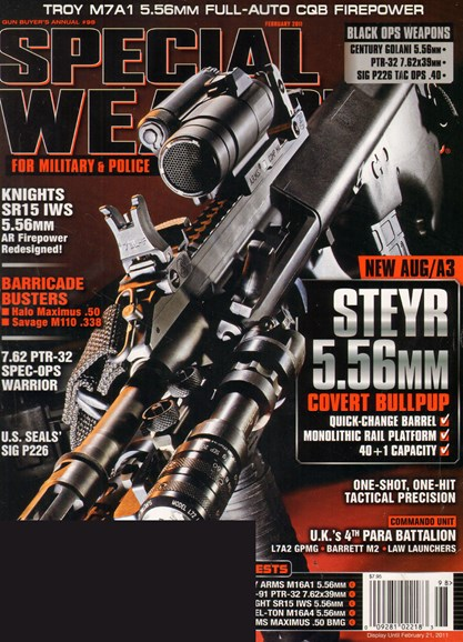Special Weapons for Military & Police Cover - 2/21/2011