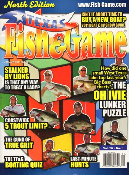 Texas Fish & Game Cover - 1/1/2011
