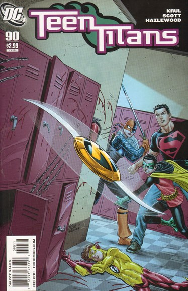 Teen Titans Cover - 2/1/2011
