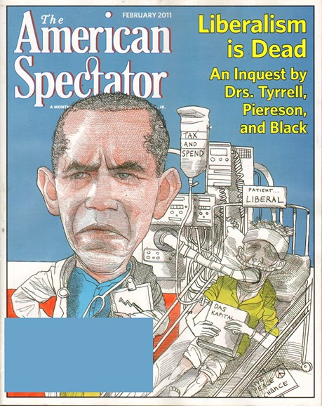 The American Spectator Cover - 2/1/2011