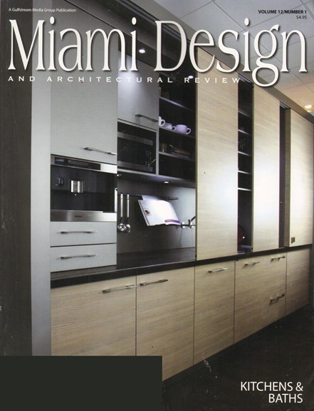 Miami Design & Architectural Review Cover - 1/1/2011