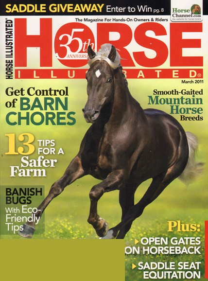 Horse Illustrated Cover - 3/1/2011