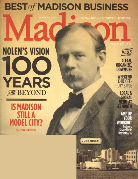 Madison Magazine Cover - 1/1/2011