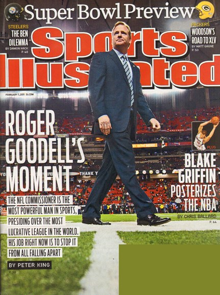 Sports Illustrated Cover - 2/7/2011