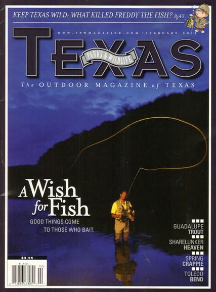 Texas Parks & Wildlife Cover - 2/1/2011