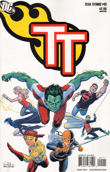 Teen Titans Cover - 3/1/2011