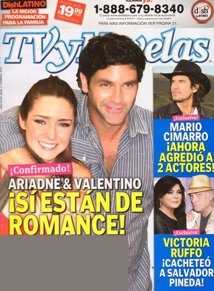 Tv Y Novelas Cover - 2/1/2011