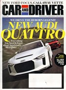 Car And Driver Magazine 3/1/2011