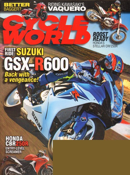 Cycle World Cover - 3/1/2011