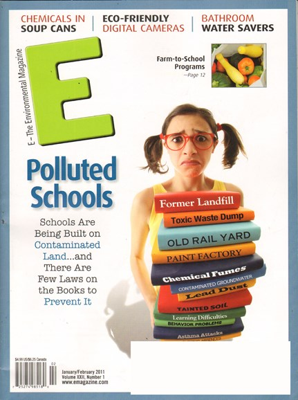 E: The Environment Magazine Cover - 1/1/2011