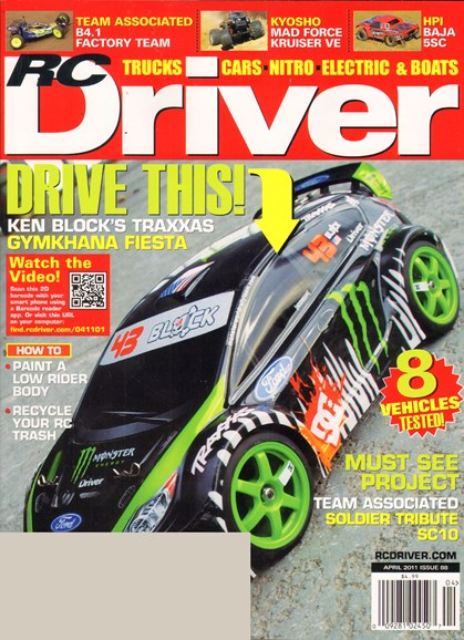 RC Driver Cover - 4/1/2011