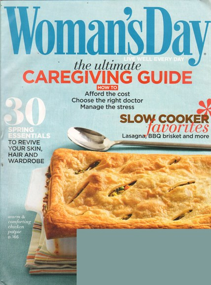 Woman's Day Cover - 2/11/2011
