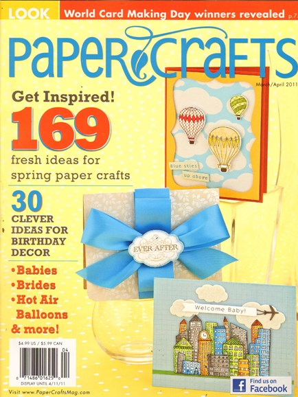 Paper Crafts Cover - 3/1/2011