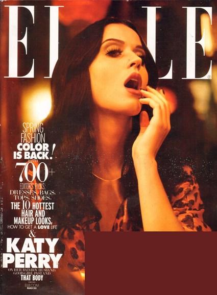 ELLE Cover - 3/1/2011