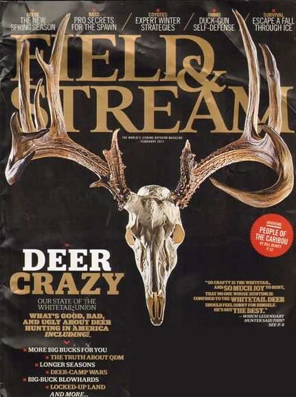 Field & Stream Cover - 2/1/2011