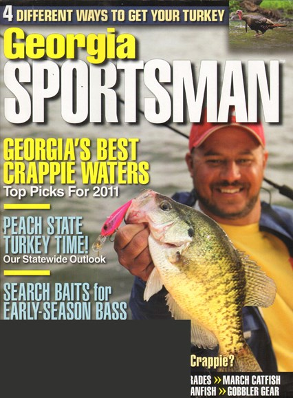 Georgia Sportsman Cover - 3/1/2011