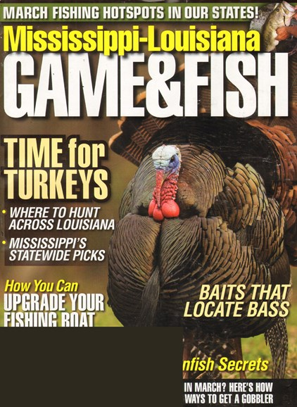 Mississippi Game & Fish Cover - 3/1/2011