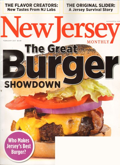 New Jersey Monthly Cover - 2/1/2011