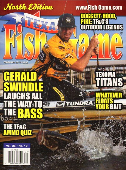 Texas Fish & Game Cover - 2/1/2011