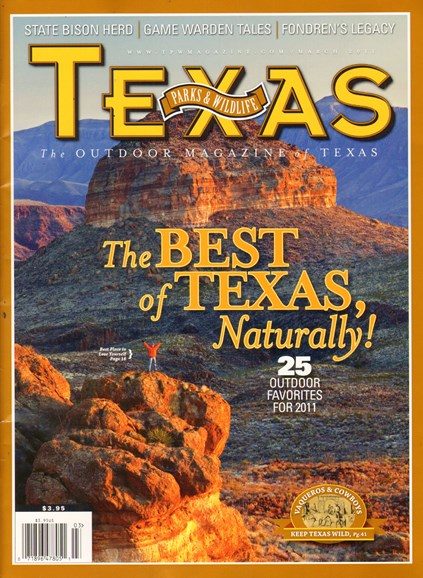 Texas Parks & Wildlife Cover - 3/1/2011
