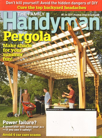 The Family Handyman Cover - 3/1/2011