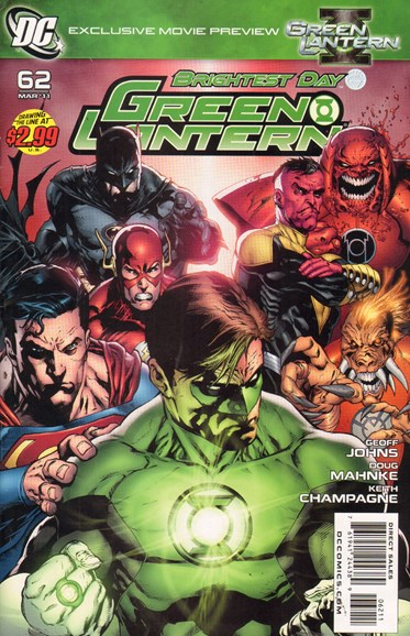 Green Lanterns Cover - 3/1/2011