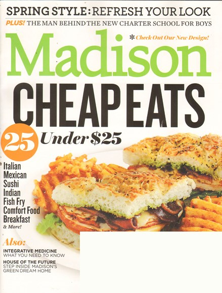 Madison Magazine Cover - 3/1/2011