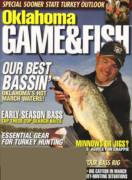 Oklahoma Game & Fish Cover - 3/1/2011