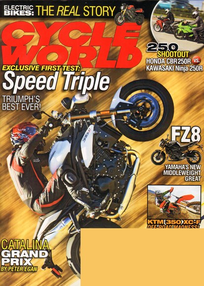 Cycle World Cover - 4/1/2011