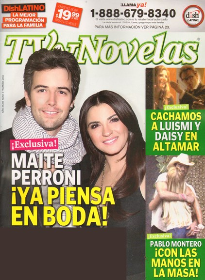 Tv Y Novelas Cover - 3/1/2011