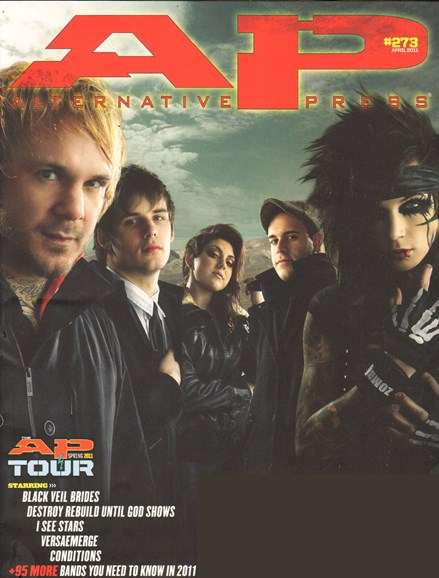 Alternative Press Cover - 4/1/2011