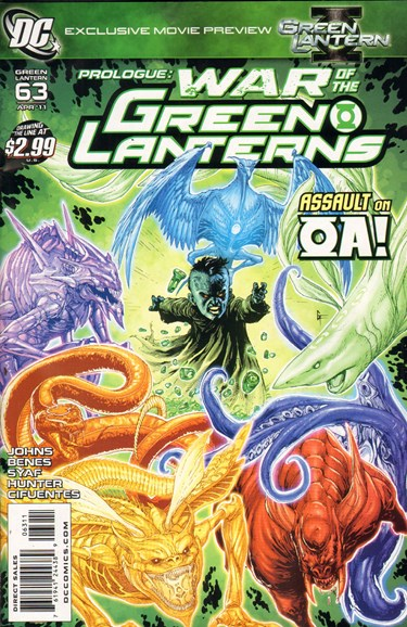 Green Lanterns Cover - 4/1/2011