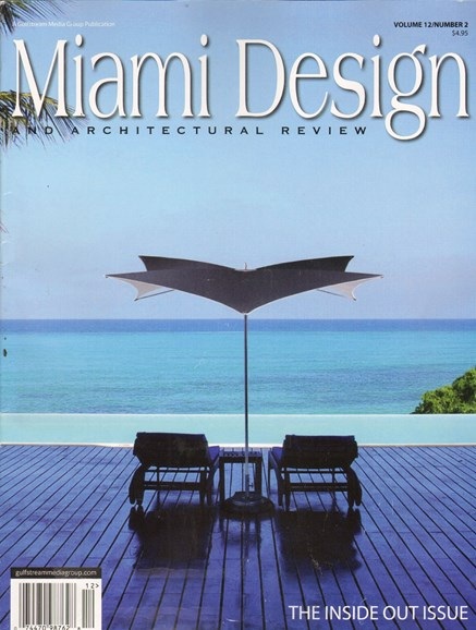 Miami Design & Architectural Review Cover - 4/1/2011