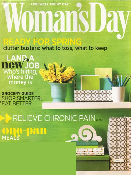 Woman's Day Cover - 4/1/2011