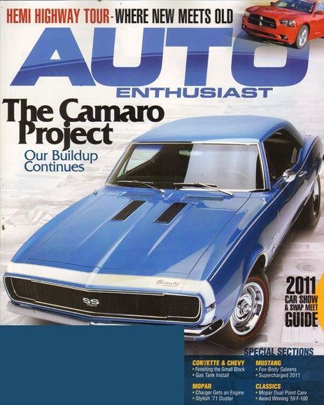 Cars & parts Cover - 4/1/2011