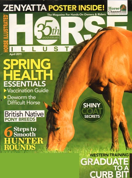 Horse Illustrated Cover - 4/1/2011
