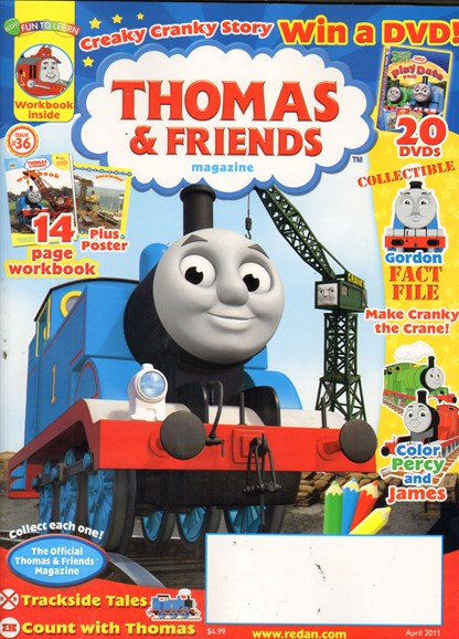 Thomas & Friends Cover - 4/1/2011